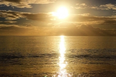 Sunrise over Babbacombe Bay
