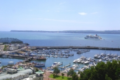 Torquay Harbour and across the bay